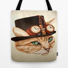 Punk Cat Tote Bag
