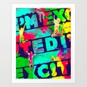 I'm Excited Art Print