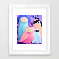 Owls of Owls Framed Art Print