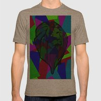 Lion Mens Fitted Tee Tri-Coffee SMALL