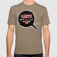 Hamzig (I Baconferi) Mens Fitted Tee Tri-Coffee SMALL