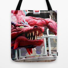 Fire Breather  Tote Bag