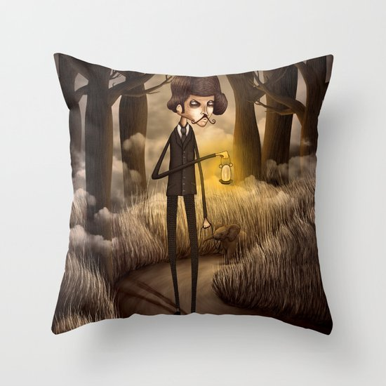 Eremita de Warwickshire Throw Pillow