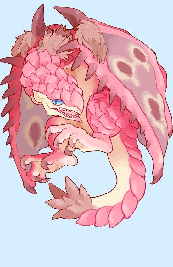 pink rathian Art Print