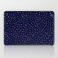 Dotted Gold & Midnight iPad Case