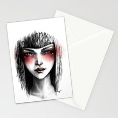 The White Lady Stationery Cards