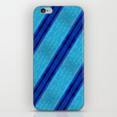 Blue Skin iPhone & iPod Skin