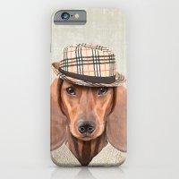The stylish Mr Dachshund iPhone 6 Slim Case