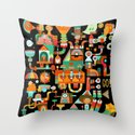 The Chipper Widget (Remix) Throw Pillow