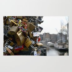 Lovers locks Rug