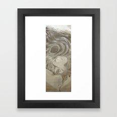 T S U N A M I Framed Art Print