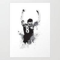 Steven Gerrard Art Print