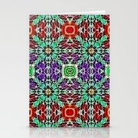 Garden of Jewels Stationery Cards
