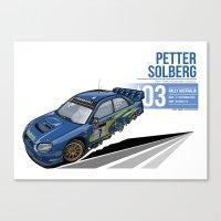 Petter Sorlberg - 2003 Australia Canvas Print