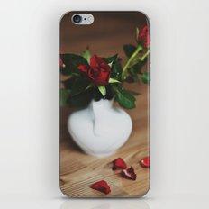 red love. iPhone & iPod Skin