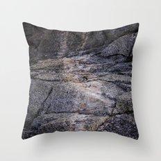 desert rocks Throw Pillow