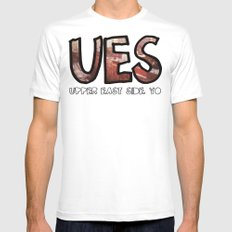 The Upper East Side (An Instagram Series) SMALL White Mens Fitted Tee