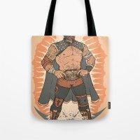 Lucha De Guadalupe Tote Bag