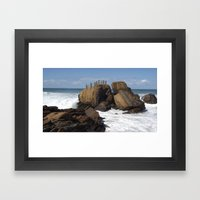 Neptuno Framed Art Print