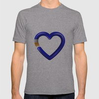 Love to paint Mens Fitted Tee Athletic Grey SMALL