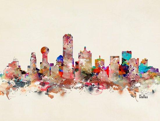 Dallas city texas Art Print