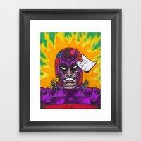 Magneto Framed Art Print
