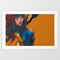 Jean Grey Art Print