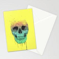 Pop art skull  Stationery Cards
