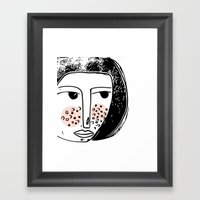 Pimply Monsters - 1 Framed Art Print