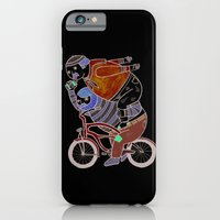 On how bicycle riders utilize team work in certain situations. iPhone 6 Slim Case