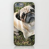 Two Cute Pugs . . .  We are Gorgeous and we Know It! iPhone 6 Slim Case