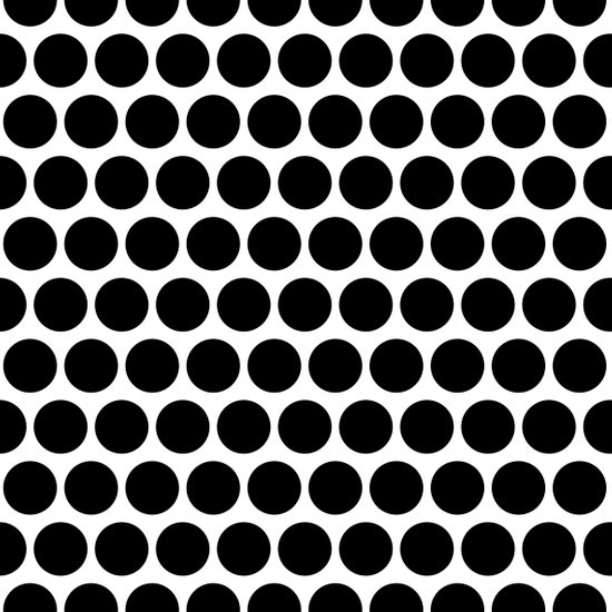 Graphic_Polka Dots  Art Print