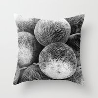 Negative Light No.1 Throw Pillow