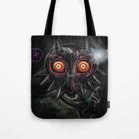 Legend Of Zelda Majora's… Tote Bag