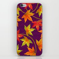 Waltz of the Maples iPhone & iPod Skin