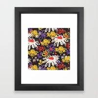 Floral Fiesta Framed Art Print