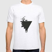 I'm Wolf Mens Fitted Tee Ash Grey SMALL