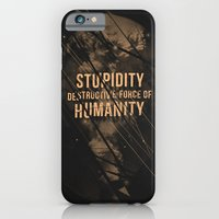iPhone & iPod Case featuring Stupidity by nicebleed