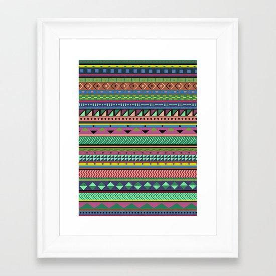 Motif Framed Art Print