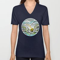 When The Earth Meets The… Unisex V-Neck