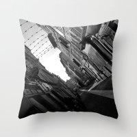 Cours Julien  Throw Pillow