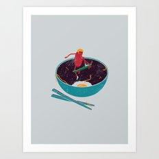 X-Food Art Print