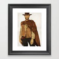 CLINT EASTWOOD - WESTERN… Framed Art Print
