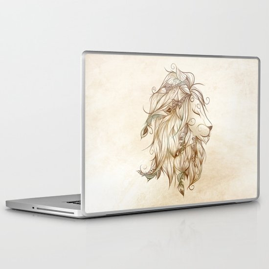 Poetic Lion  Laptop & iPad Skin