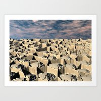 Surface Of Another World Art Print