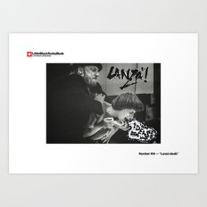 #04 - Lanzá Idea$ Art Print