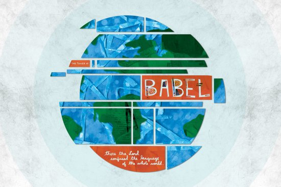 Tower of Babel (by Amy Hardy) Art Print