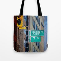 Fashion Avenue  Tote Bag