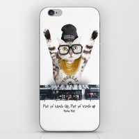 Thug Cat iPhone & iPod Skin