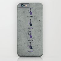 iPhone & iPod Case featuring Forms of Prayer - White by Damien Koh